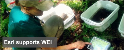 Esri grant supports NH Fish and Game Watershed Ecology Institute