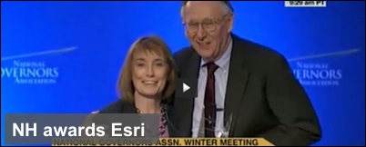 Esri gets private-public partnership award for work in NH