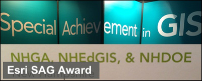 NH receives Esri award for Special Achievement in GIS