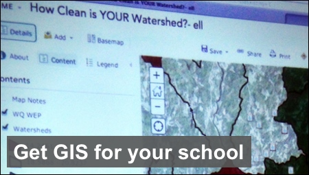 Get GIS for your school